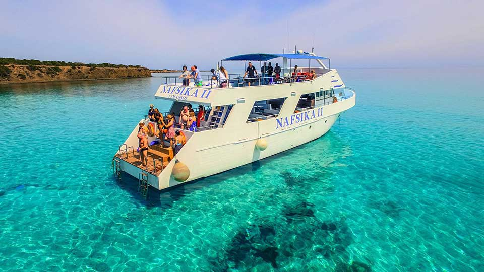 The Akamas Peninsula Nafsika II | Cyprus Mini Cruises